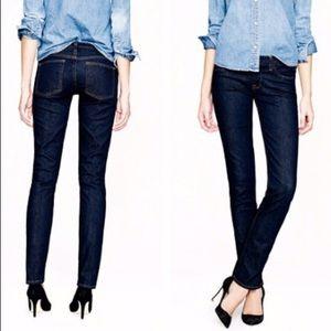 NWOT J. Crew Matchstick Dark Wash Jeans